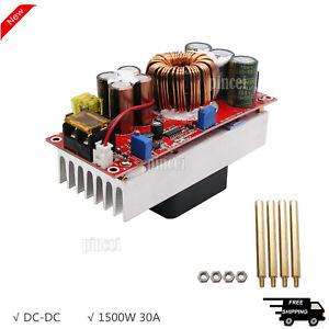 1500W 30A Boost DC-DC Converter Power Supply Step-Up Module 12V 24V 48V to 48V