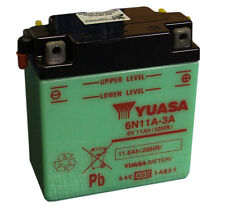 Genuine Yuasa 6N11A-3A 6V Motorbike Motorcycle Battery Piagio Vespa Scooter