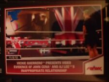 2013 Topps Best of WWE #57 Vickie Guerrero Presents Video Evidence BLUE Parallel