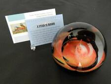 Glass Eye Studio Celestial A Star is Born Paperweight New NIB 523F USA Made