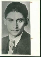Franz Kafka. Writer.. Silver Print