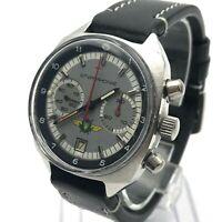 Vintage Aviator Pilot Watch POLJOT 31659 Shturmanskie Steel Original Chronograph