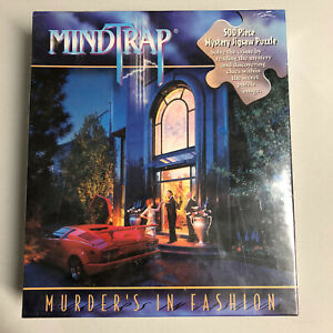 Mindtrap Murders In Fashion 500 Piece Mystery Jigsaw Puzzle