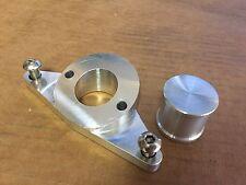 Blitz BOV Inlet Flange adapter aluminum for WRX/STI EJ20/EJ25 Bolt on Inc.+ Plug