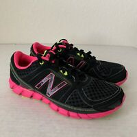 New Balance 750 v1 Shoes Women's Running Athletic Black/Pink Size 6.