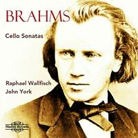Raphael Wallfisch (cello) - Johannes Brahms: Cello Sonatas [CD]