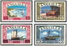 Timbres Bateaux Anguilla 16/9 ** lot 24505