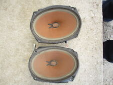 91-96 CHEVROLET CAPRICE REAR OEM BACK WINDOW SPEAKERS WITH FOAM COVERS 6X9 used