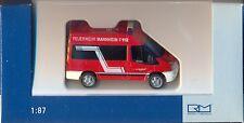 Rietze: 52532 Feuerwehr,Mannheim - Ford Transit 06