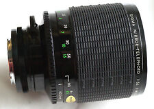 SIGMA REFLEX MIRROR 400mm f5.6 for KONICA AR mirrorless cameras JAPAN rare GREAT
