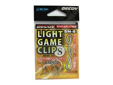 NEW Decoy Light Game Clip SN-8 Jighead Rotation Size S ~ 8lb JAPAN