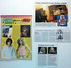 MICHEL POLNAREFF => Lot 4 coupures de presse !!! FRENCH CLIPPINGS