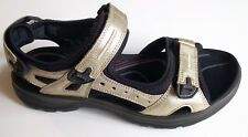ECCO Womens Yucatan Sport Sandal Light Gold Lexi Size 38 US 7 - 7.5 Sandals