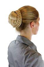 Haarteil: geflochtener Zopf Dutt Tracht Traditionell Blond Hellblond N796-LG26