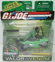 Hasbro G.I. Joe Kamakura with Ninja Lightning Cycle Valor VS Venom MOC MIB Cobra