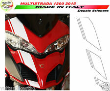 Adesivi moto per Nuova Ducati Multistrada 1200 2015 kit cupolino V309