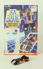 Vintage Go Bots Crasher 1985 Tonka With Original Card