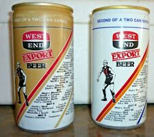 Collectable beer cans -  Set of 2 '' S.A National Football League 1982 ''  cans