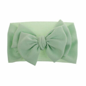 Kids Girl Baby Headband Toddler Lace Bow Flower Hair Band Accessories US