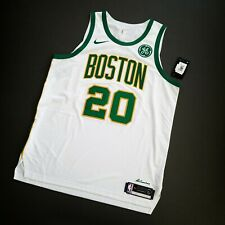100% Authentic Gordon Hayward Nike City Celtics Jersey Size 52 XL - GE Patch