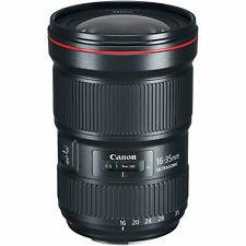 Novo em folha sem uso Canon EF 16-35mm F2.8 L III USM ultra-wide Zoom Lente