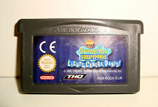 EU NINTENDO GAME BOY ADVANCE GBA DS  - SPONGEBOB SQUAREPANTS LIGHTS CAMERA PANTS