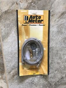 AUTOMETER #3 Stainless Gauge Line Kit 6' 3236