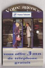 FRANCE  TICKET FT / PHONECARD .. PR2 3MN AGENCE TELECOM 30/06/1999 +N° NEUVE