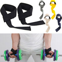 Barbells Weight Lifting Straps  Hand Bar Wrist Support Wraps Non-Slip Grip