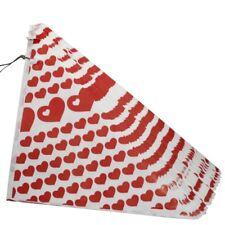 100 rote Spitztüten (250gr),Papier-Tüten für gebrannte Mandeln,Bonbons,Nüsse,NEU
