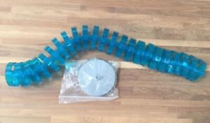 Light Blue Spine Cable Management