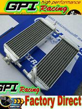 Aluminum radiator Suzuki RM250 RM 250 2-stroke 01-08 02 03 04 05 06 07 2008 2007