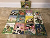 GOLDEN BOOKS TIN BOX FROM  POKY AND FRIENDS GBPC 1999 12 Books Included