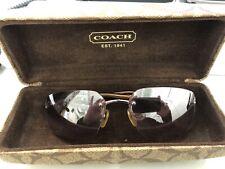 Authentic Coach Sunglasses With Case Julia
