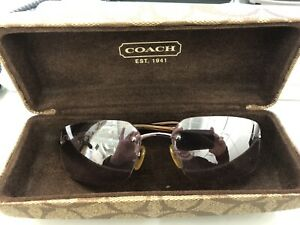 Authentic Coach Sunglasses With Case Julia