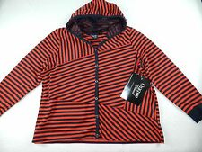WOMENS hooded JACKET CARDIGAN sweater = ONQUE casual = SIZE 1X = gz10