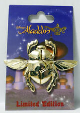 Disney Parks Trading Pin Aladdin 25th Anniversary Scarab Beetle Pin NEW LE