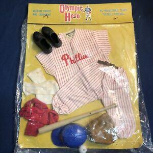 NIP JOHNNY HERO Action Figure Philadelphia Phillies Uniform Olympic Errors MLB