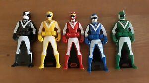 Liveman Ranger Key Lot Complete Team Sentai Gokaiger Black Bison Green Sai