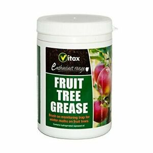 Vitax Fruit Tree Grease 200g Brush On Monitoring Trap For Winter Moths Trees