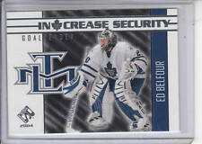 03/04 Pacific Private Stock Ed Belfour In Crease Security card #16