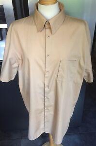 Mens Ciro Citterio Shirt - Pale Mustard - Size XL - Used