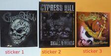 CYPRESS HILL Licensed (3) sticker set rap hip hop  weed dope