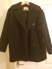 Ralph Lauren Denim & Supply Coat Jacket Wool Pea Coat Wilton Navy SIZE small