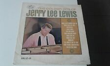 JERRY LEE LEWIS -GOLDEN HITS RARE   ISRAELI LP