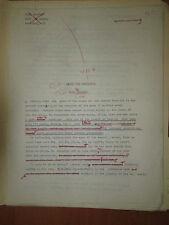 John Shirley GENERATOR Original Science Fiction Story Typescript Cyberpunk