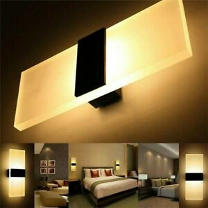 LED Wall Light Modern Up Down Lamp Sconce Spot Lighting Home Bedroom Fixture