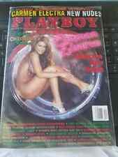 PLAYBOY MAGAZINE CARMEN ELECTRA DECEMBER 2000 AWESOME NEW NUDES FACTORY SEALED