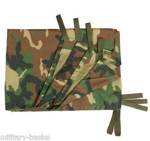 Mehrzweckplane woodland Tarp Basha Shelter sheet  Plane Sonnensegel Regenschutz