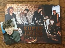 Super Junior 4th Album Bonamana + Photocard